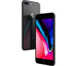 APPLE iPhone 8 Plus - 64 GB, Space Grey