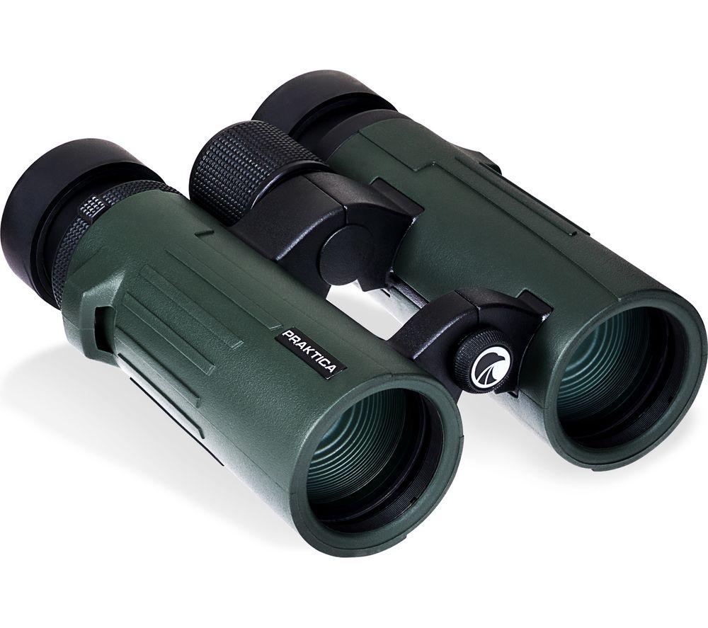 PRAKTICA Pioneer 8 x 42 mm Binoculars - Green