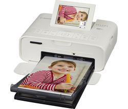 CANON SELPHY CP1300 Wireless Photo Printer - White