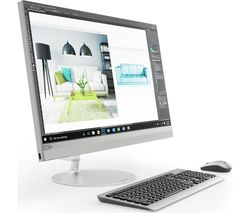"LENOVO IdeaCentre 520-27IKL 27"" QHD All-in-One PC - Silver"