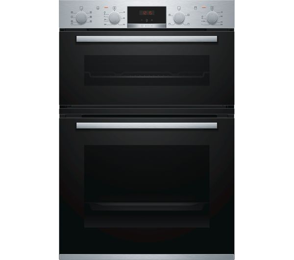 Image of BOSCH Serie 4 MBS533BS0B Electric Double Oven - Stainless Steel