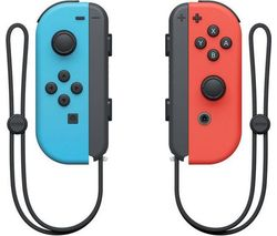 NINTENDO Switch Joy-Con Wireless Controllers - Red & Blue