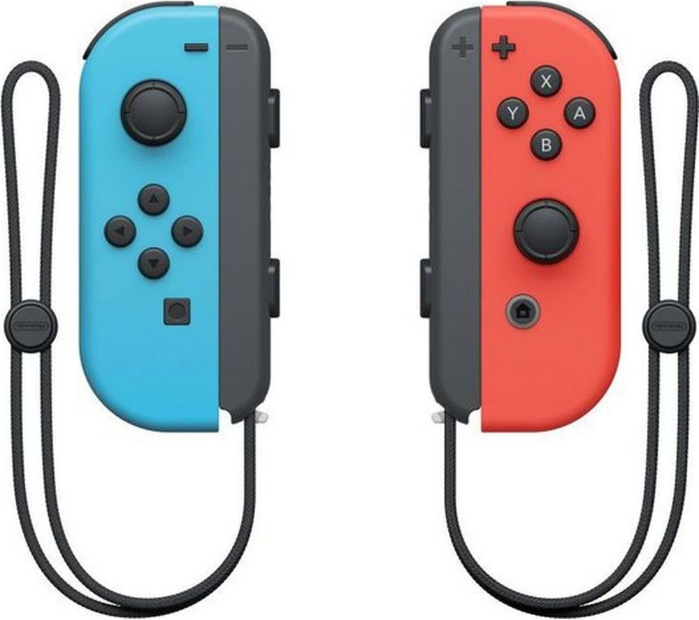 NINTENDO Switch Joy-Con Wireless Controllers - Red & Blue, Red