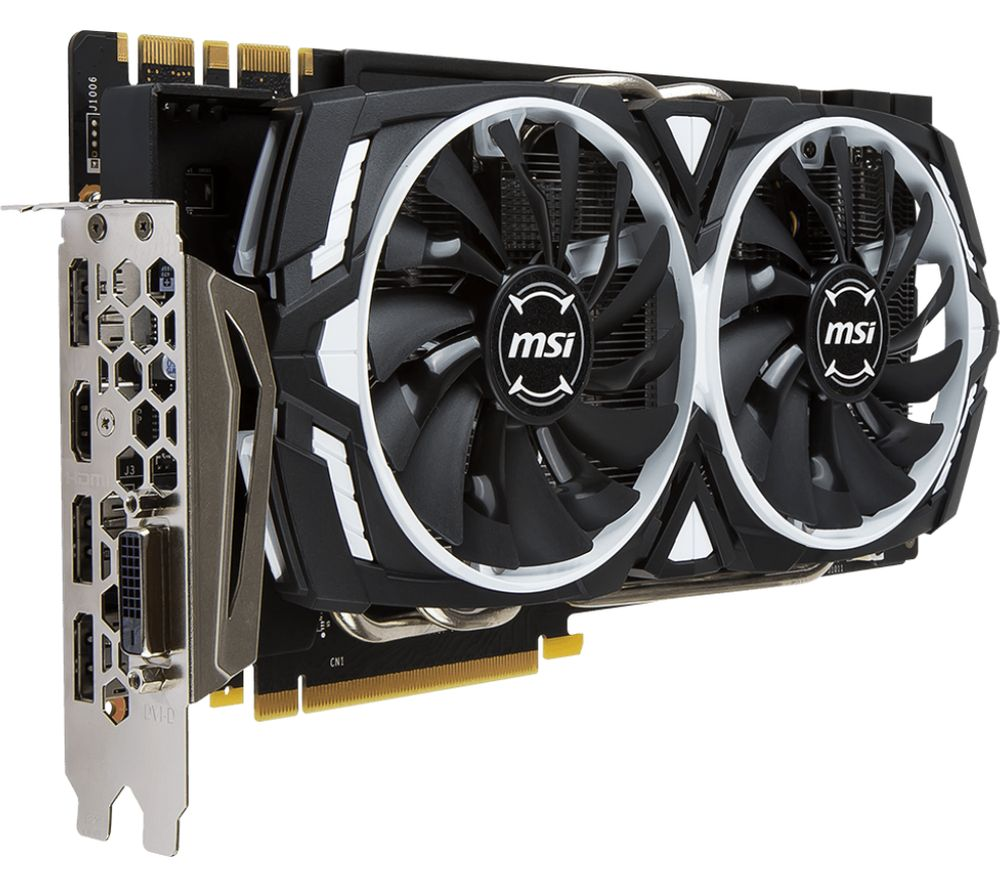 MSI GeForce GTX 1070 Ti 8 GB ARMOR Graphics Card