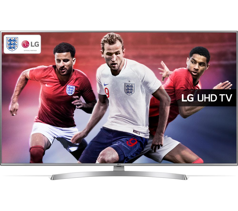 "LG 55UK6950PLB 55"" Smart 4K Ultra HD HDR LED TV + S1HDM315 HDMI Cable with Ethernet - 1 m"