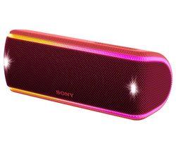 SONY SRS-XB31 Portable Bluetooth Wireless Speaker - Red
