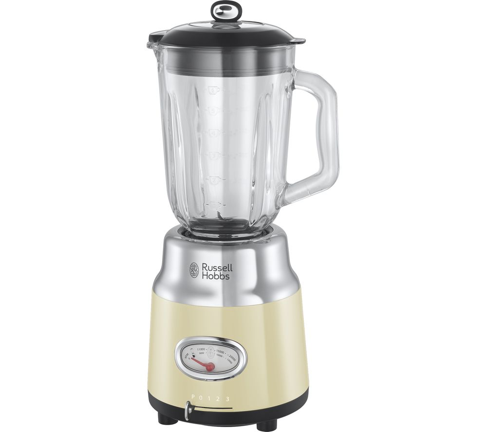 RUSSELL HOBBS Retro 25192 Blender - Cream