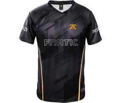 FNATIC Player Jersey 2018 - XL, Black