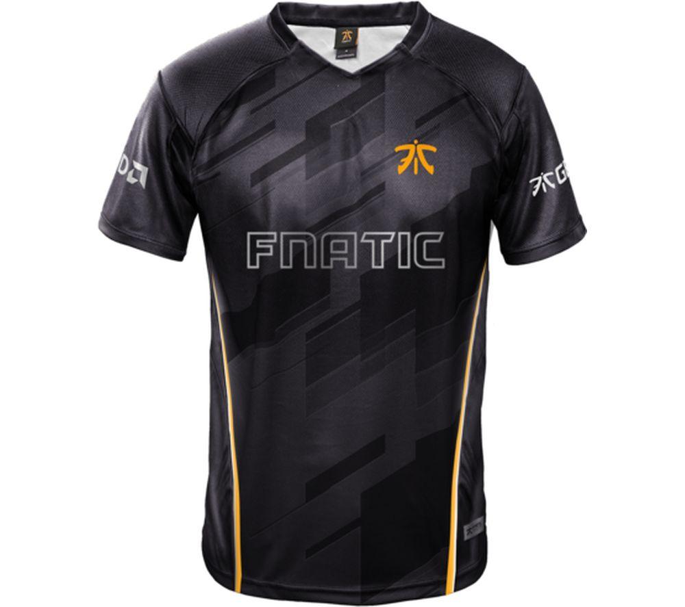 FNATIC Player Jersey 2018 - XL, Black