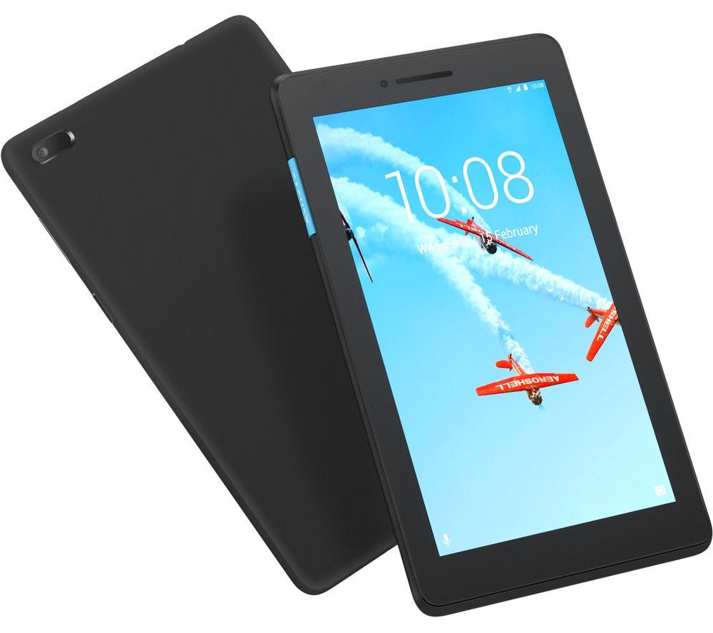 LENOVO Tab E7 Tablet - 16 GB, Black