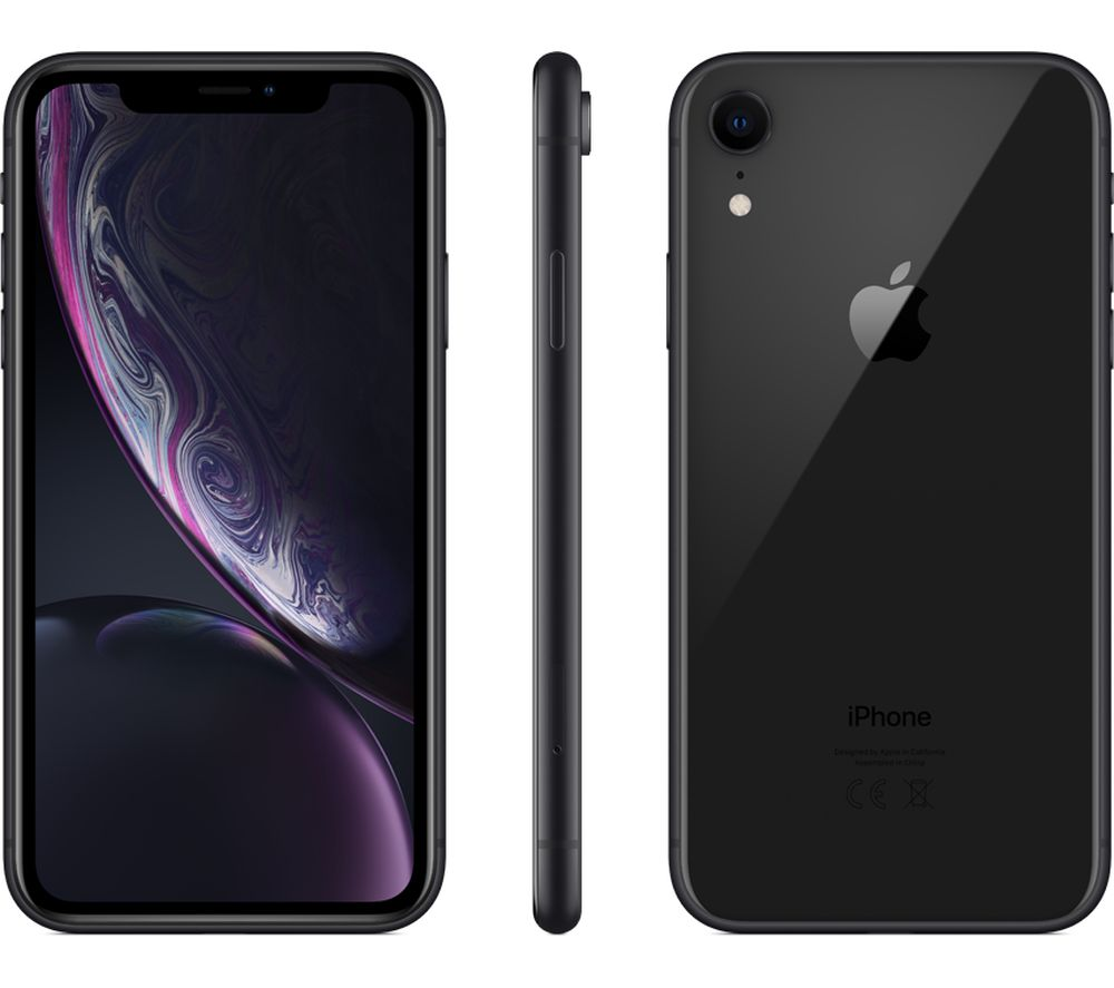 Buy APPLE iPhone XR - 256 GB, Black | Free Delivery | Currys
