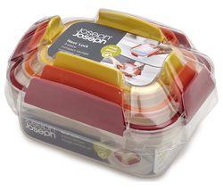 JOSEPH JOSEPH Nest Lock Rectangular Storage Container Set - Pack of 3