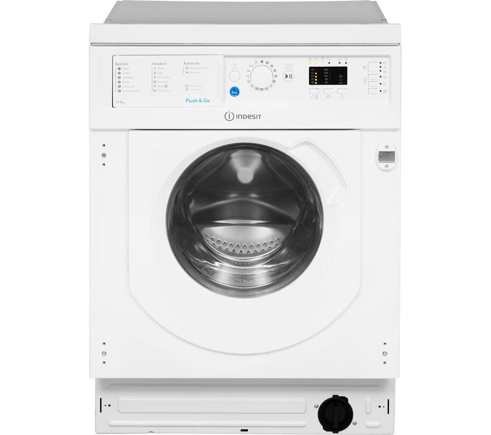 INDESIT BI WDIL 7125 Integrated 7 kg Washer Dryer