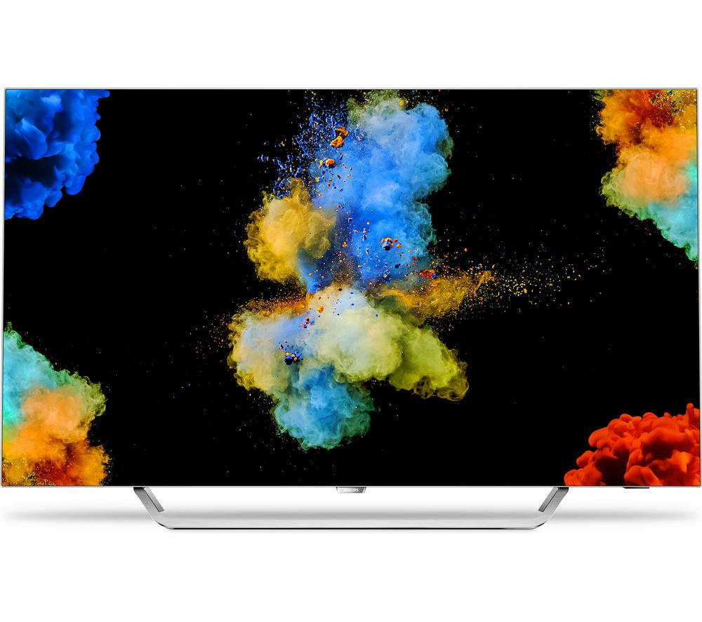 """55""""  PHILIPS 55POS9002  Smart 4K Ultra HD HDR OLED TV, Gold"""