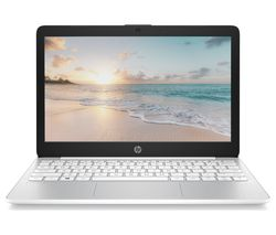 "HP Stream 11-ak0502sa 11.6"" Laptop - Intel® Celeron™, 32 GB eMMC, White"