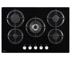 BELLING GTG75C Gas Hob - Black