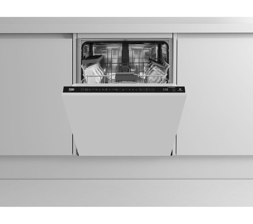 Image of BEKO AutoDose DIN59420D Full-size Fully Integrated Smart Dishwasher