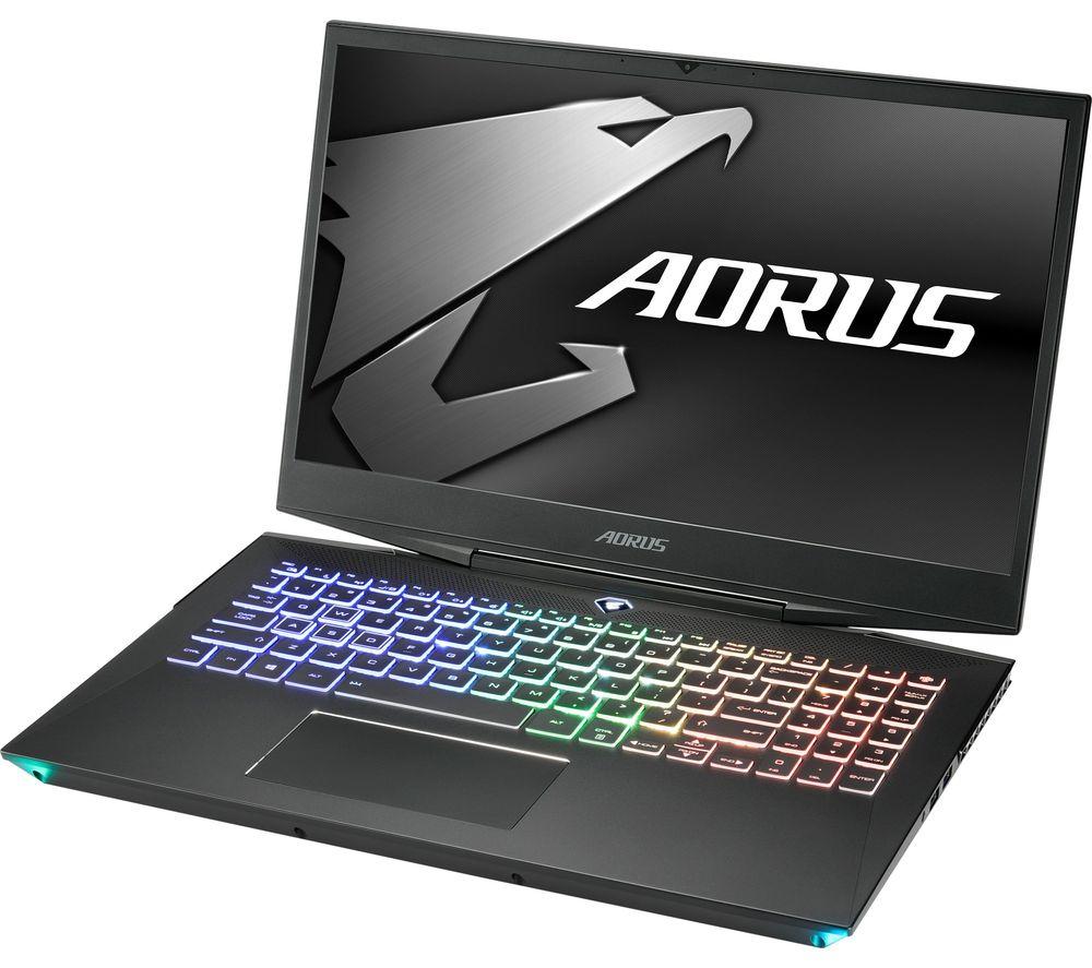 """GIGABYTE AORUS 15-WA 15.6"""" Gaming Laptop - Intel® Core™ i7, RTX 2060, 2 TB HDD & 512 GB SSD"""