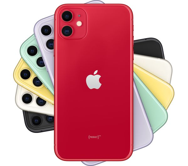 Apple iPhone 11 - 128 GB, Red 2