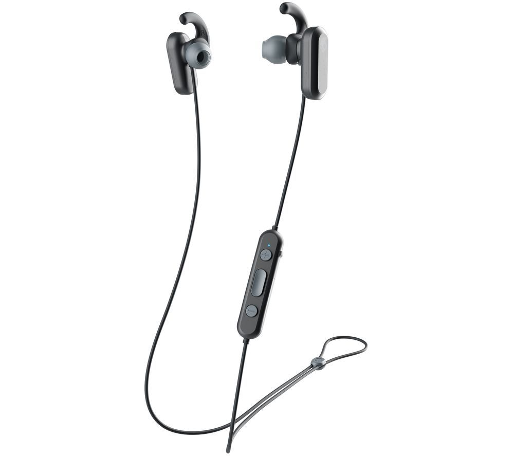 SKULLCANDY Method S2NQW-M448 Wireless Bluetooth Noise-Cancelling Sports Earphones - Black & Grey