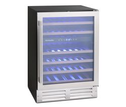 WS46SDX Wine Cooler - Stainless Steel