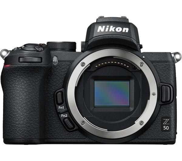 NIKON Z 50 Mirrorless Camera with FTZ Mount Adapter
