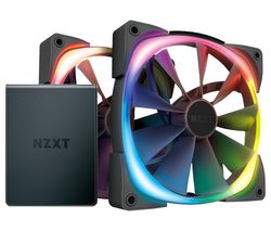 Aer RGB 2 Dual Fan Pack with HUE 2 Controller - 140 mm