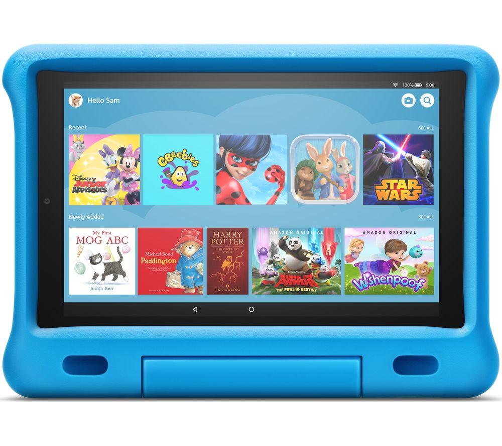 "AMAZON Fire HD 10"" Kids Edition Tablet (2019) - 32 GB, Blue"