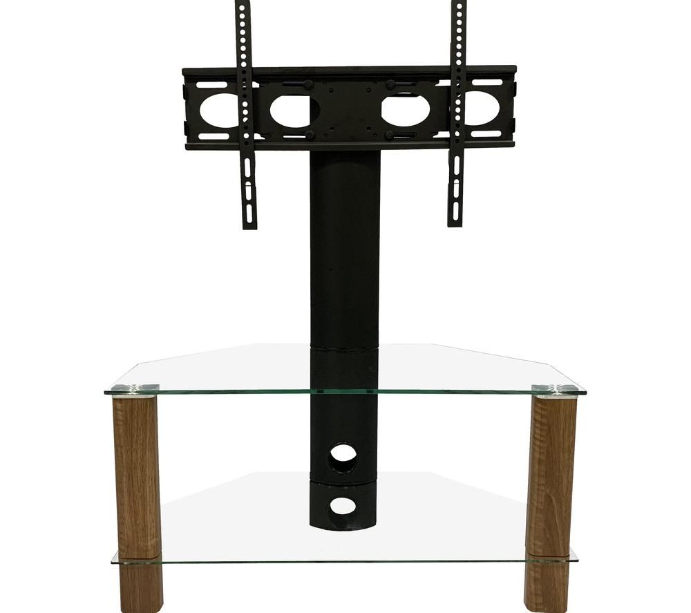 Image of ALPHASON Century 800 mm TV Stand with Bracket - Walnut