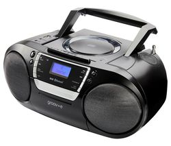 GROOV-E Ultimate GV-PS933 Bluetooth Boombox - Black