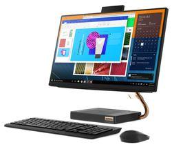 "LENOVO IdeaCentre A540 23.8"" All-in-One PC - AMD Ryzen 3, 1 TB HDD, Black"