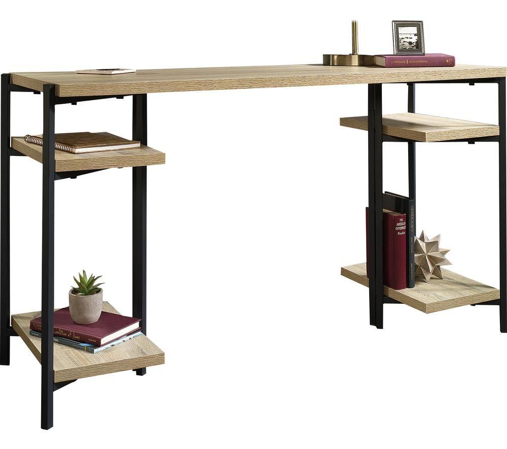 TEKNIK 5422097 Chunky Bench Desk - Charter Oak