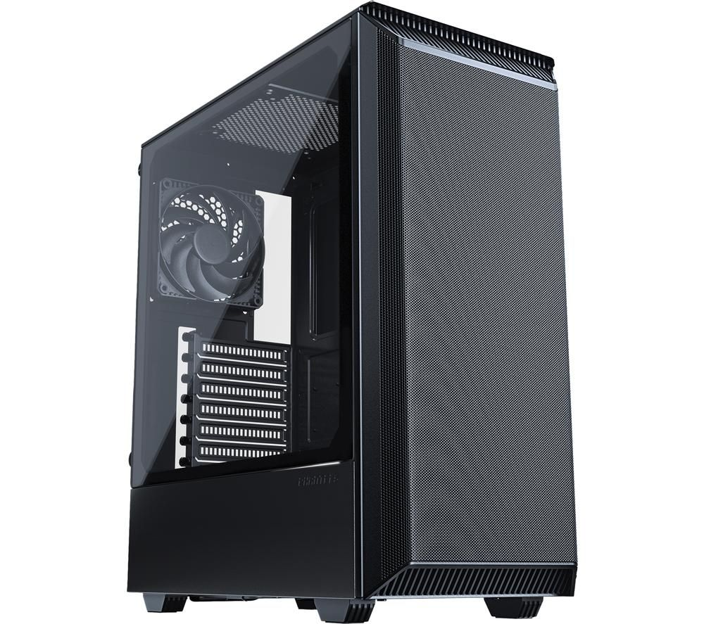Image of Phanteks Eclipse P300 Air Midi tower Game console casing Black Built-in fan, Window, Dust filter