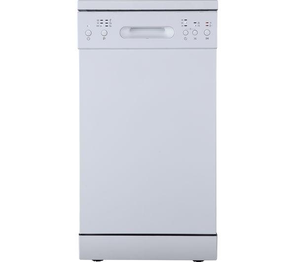 ESSENTIALS CUE CDW45W20 Slimline Dishwasher - White