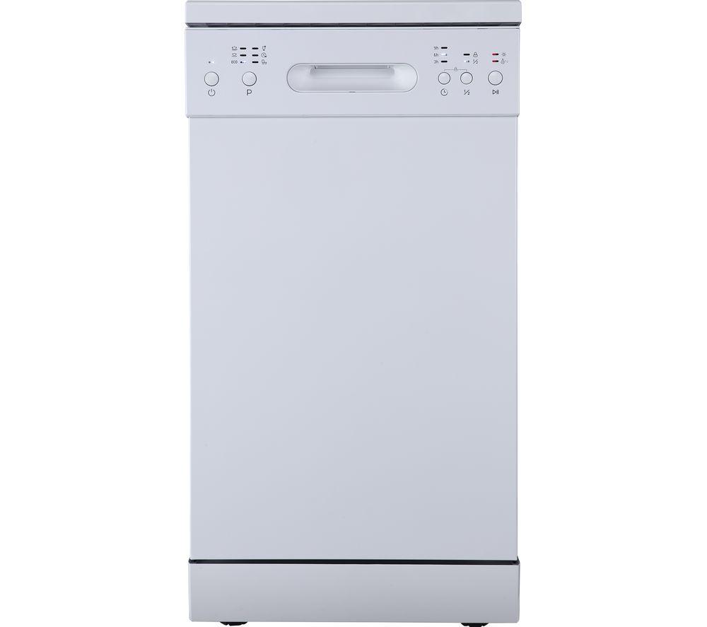 ESSENTIALS CUE CDW45W20 Slimline Dishwasher - White, White