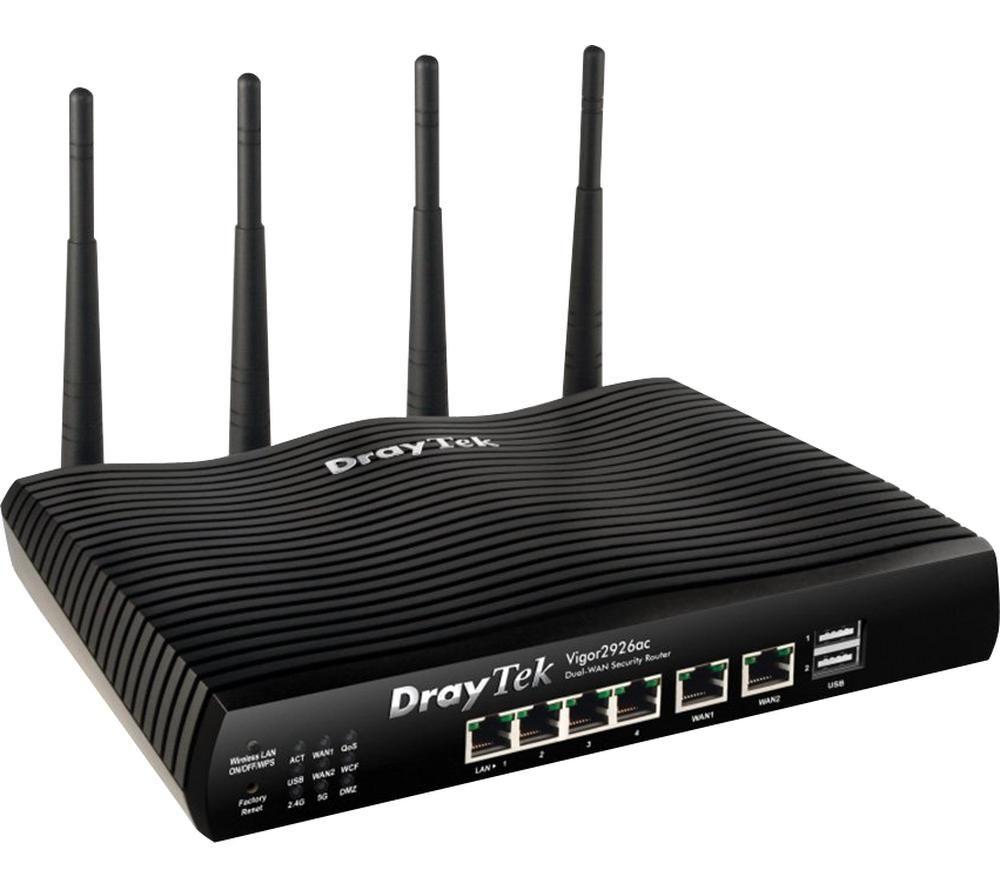 DRAYTEK Vigor V2926AC-K WiFi Modem Router - Dual-band