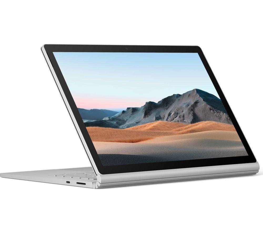 "MICROSOFT 15"" Surface Book 3 – Intel® Core™ i7, 256 GB SSD, Platinum"