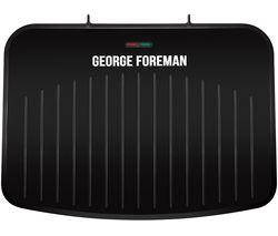 Image of GEORGE FOREMAN 25820 Large Fit Grill - Black