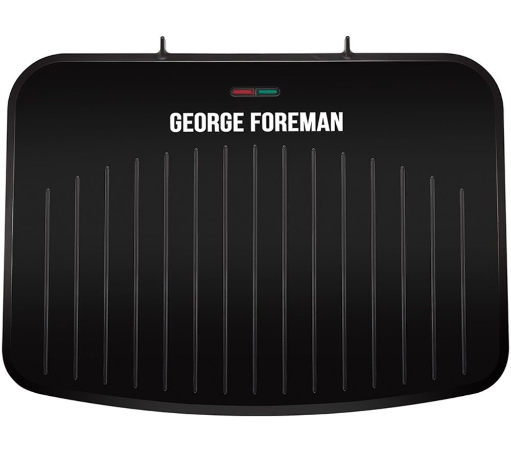 GEORGE FOREMAN 25820 Large Fit Grill - Black