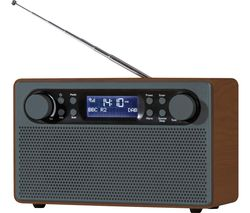 AVS1324 Portable DAB+/FM Retro Radio - Grey