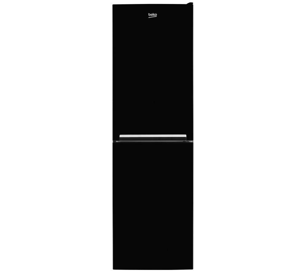 BEKO CSG3582B 50/50 Fridge Freezer - Black, Black