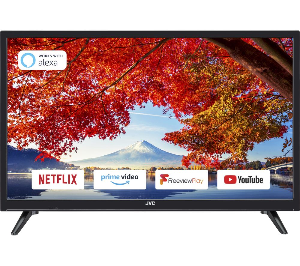 "JVC LT-24C600 24"" Smart HD Ready LED TV"