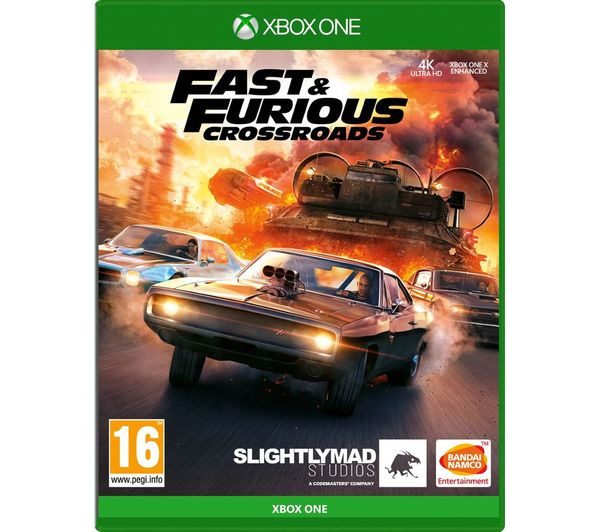 Buy Microsoft Xbox One S, Fast And Furious Crossroads  3 -9916
