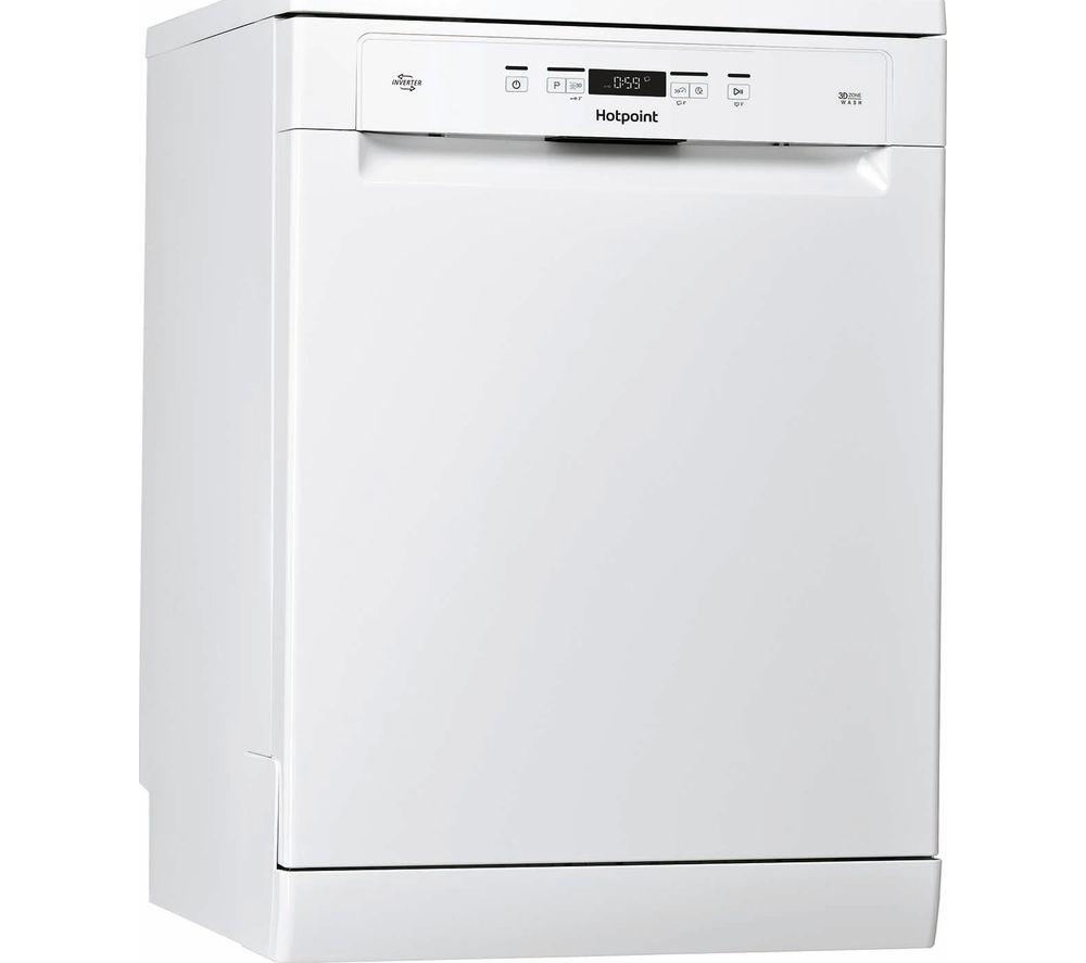 HOTPOINT HFC 3C32 FW UK Full Size Dishwasher - White
