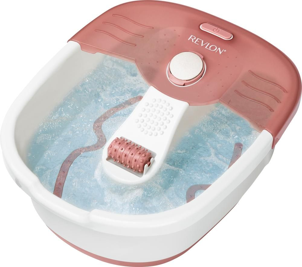 REVLON RVFB7021PUK2 Pediprep Foot Spa - White & Pink