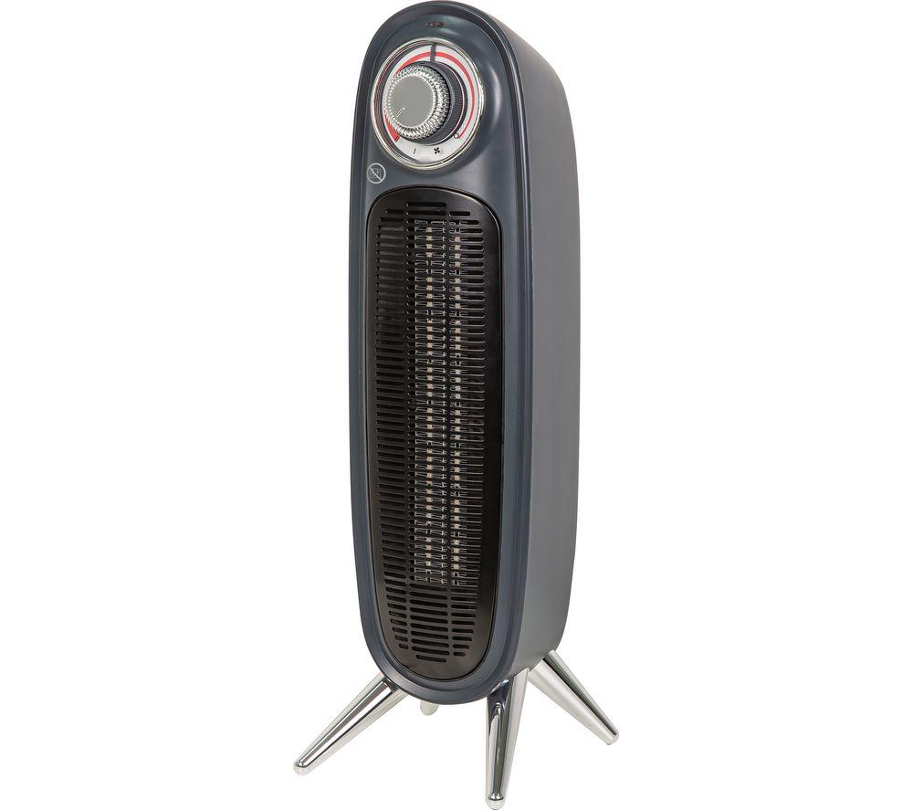 RUSSELL HOBBS RHRETFH1002G Portable Hot & Cool Fan Heater - Grey
