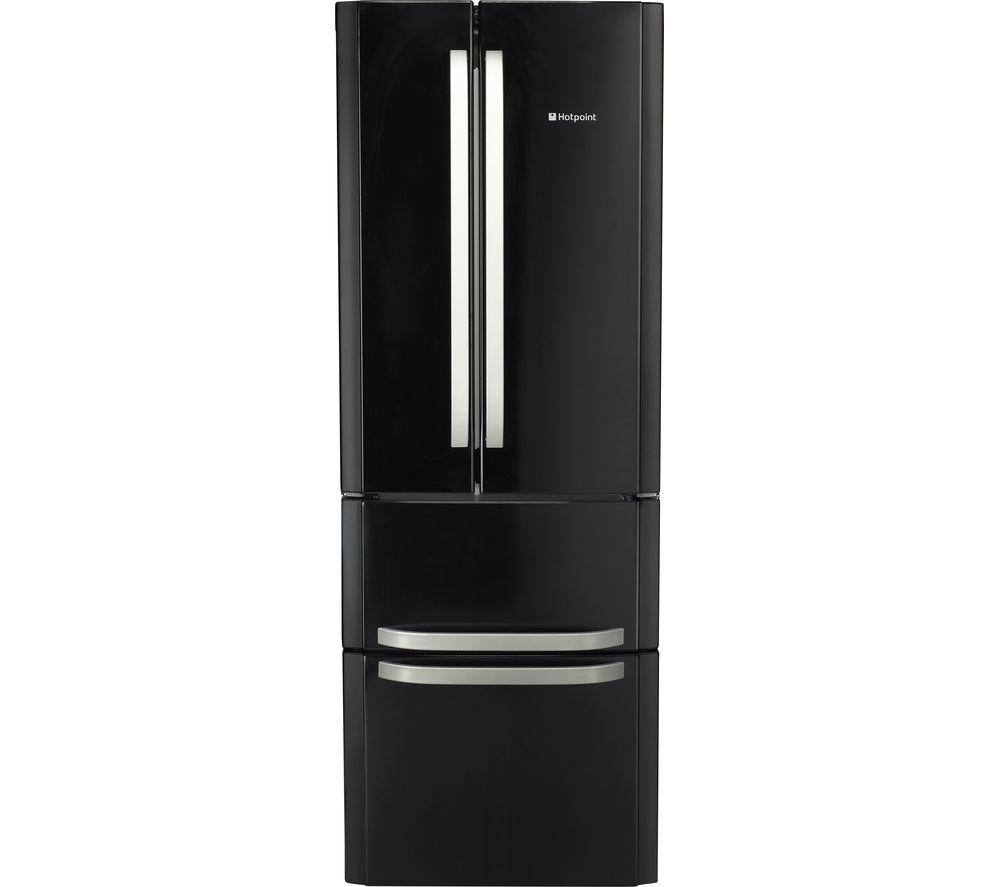 HOTPOINT FFU4D K 1 Fridge Freezer - Black