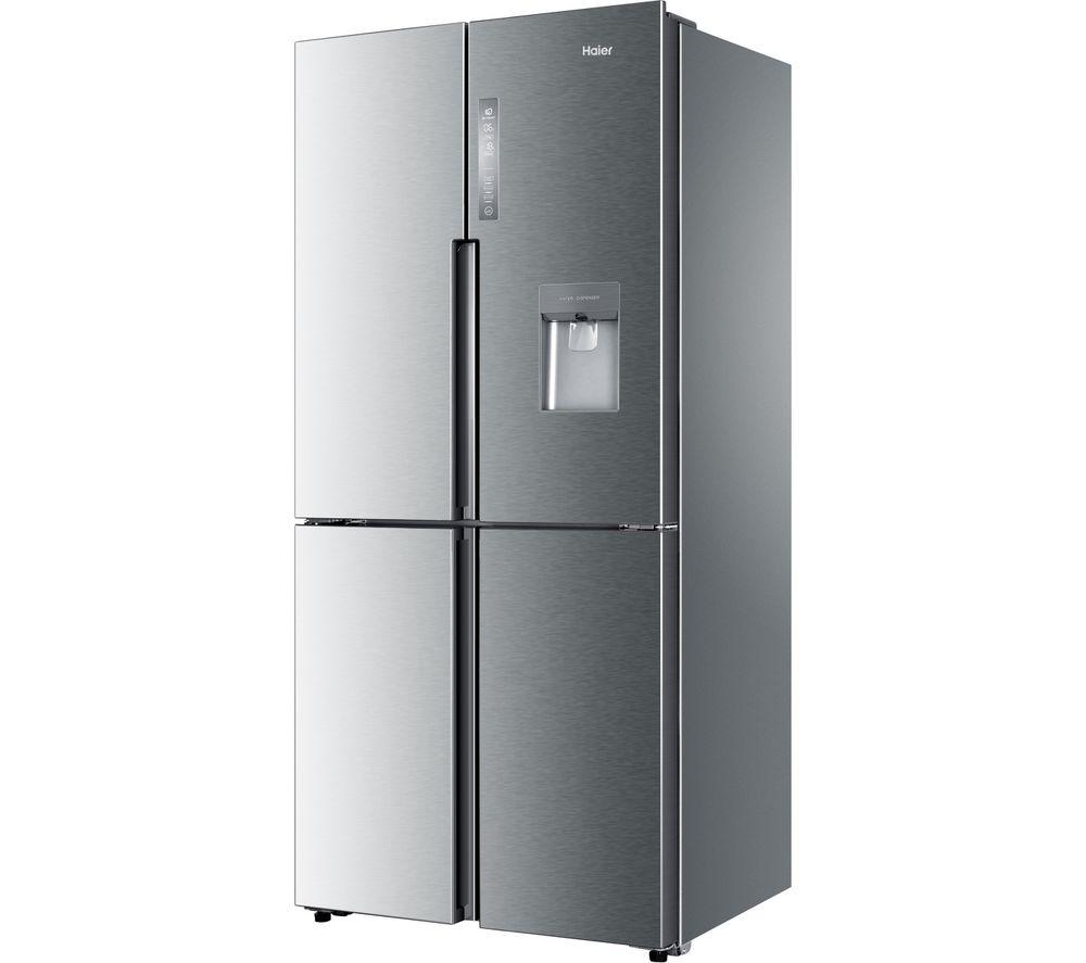 HAIER GHTD456FHS8 Fridge Freezer - Platinum Inox