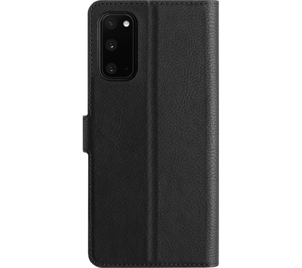XQISIT Slim Wallet Galaxy S20 Fan Edition Case - Black