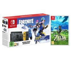 Switch Fortnite Special Edition & The Legend of Zelda: Breath of the Wild Bundle